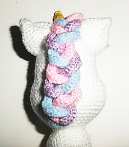 Crochet Unicorn Horsehair