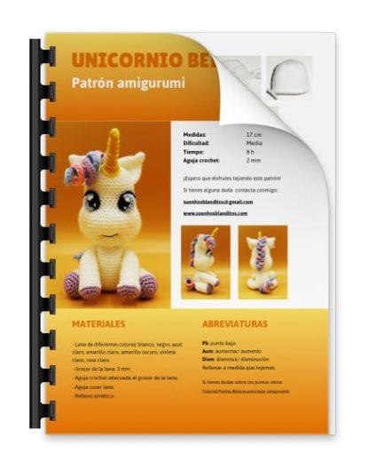 Amigurumi Unicorn PDF Pattern