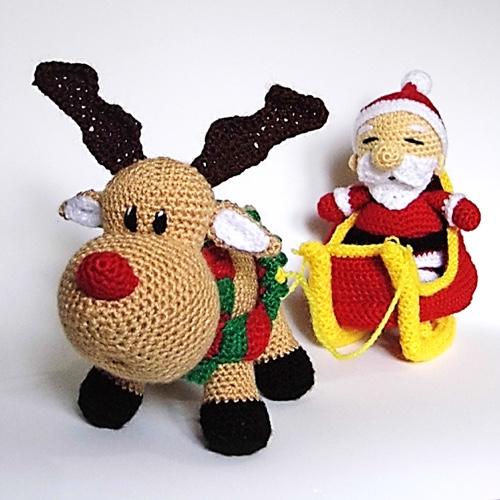 Amigurumis Navidad Crochet : Patr�n navidad amigurumi sue�os blanditos