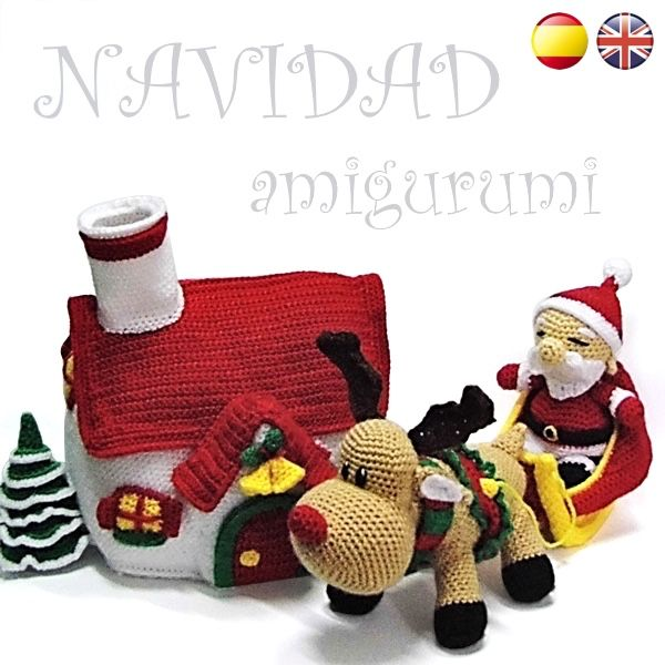 3 CHRISTMAS CROCHET PATTERNS !!! Nick, the bear + Penguin + Rocco ... | 600x600