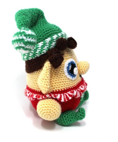 Free amigurumi pattern - Little Christmas elf | lilleliis | 600x500