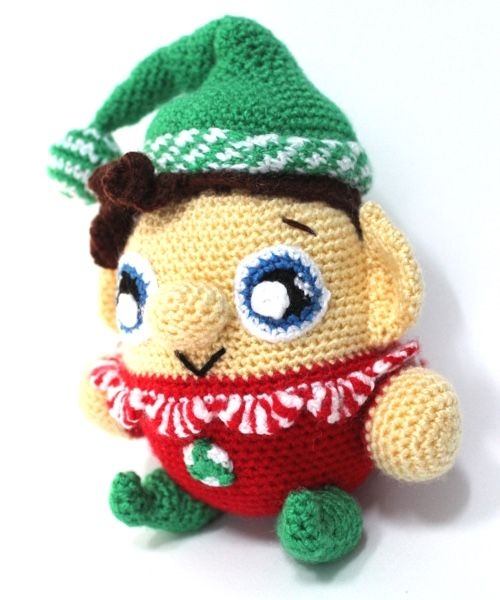 Ravelry: Buddy the Elf Amigurumi pattern by Allison Hoffman | 600x500