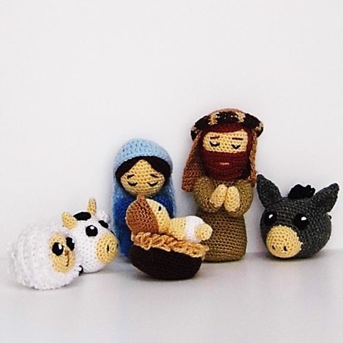 "Christmas Minis set from ""AradiyaToys Minis"" collection ... | 500x500"