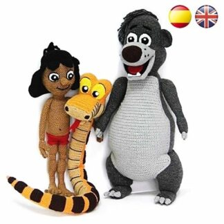 PDF / Crochet Amigurumi Pattern / Baloo / Jungle Book / Disney | Etsy | 324x324