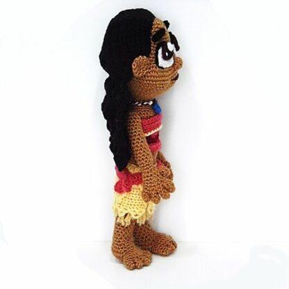 Patron Moana Amigurumi crochet