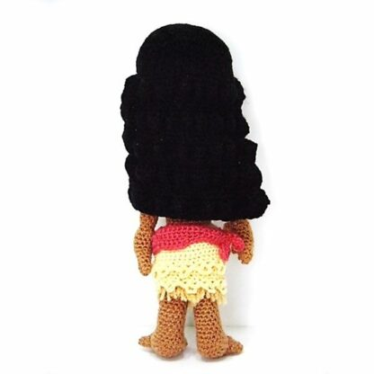 Patron para tejer a Vaiana a crochet