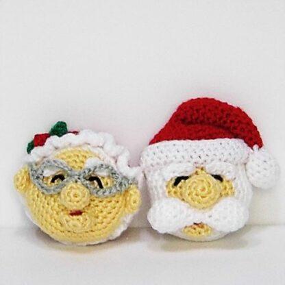 Patrones Santa Claus y Sra. Claus