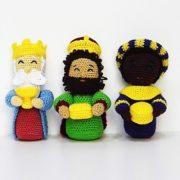 Patrones Reyes Magos Amigurumi