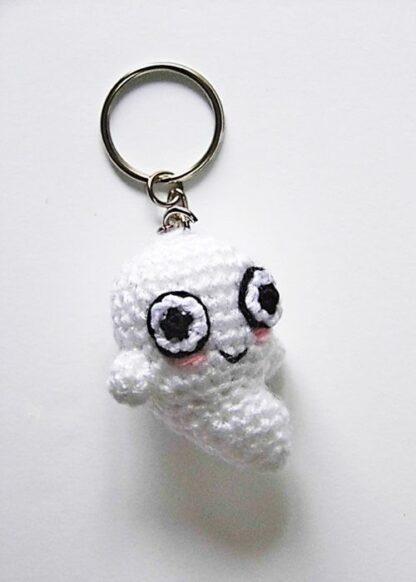 Crochet Keychain / Amigurumi Pug Keychain / Crochet Pug Key Chain ... | 582x416