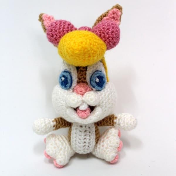 Bugs bunny / DROPS Children 23-57 - Free crochet patterns by DROPS ... | 600x600