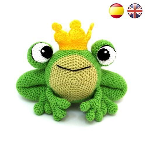 Ivan, the Frog Prince PDF Amigurumi Pattern