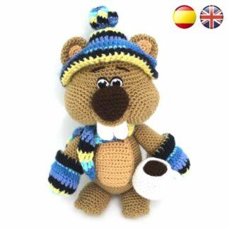 Patrón Crochet Gorrito de Vikingo para Bebés PATRÓN ESPAÑOL | Etsy | 324x324