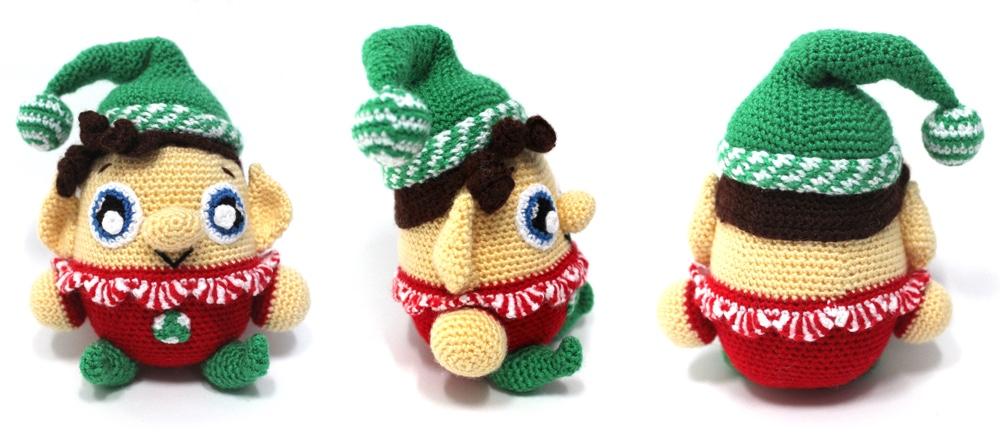 Free Patterns | Weihnachten häkeln, Diy weihnachten häkeln ... | 444x1000