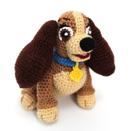 Daisy and Duke the Dachshunds Amigurumi Crochet Pattern | Etsy | 500x500