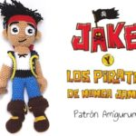 Amigurumi Pattern – Jake and the NeverLand Pirates