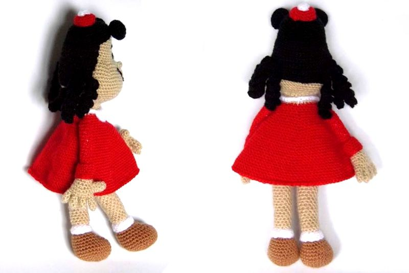 Lulu Crochet Doll