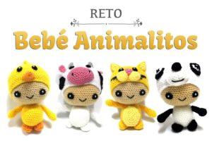 Reto Amigurumi: Bebé Animalitos