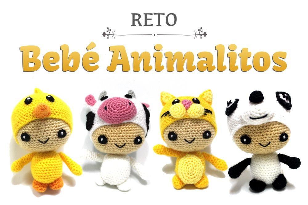 Reto Amigurumi: Bebé Animalitos – Sueños Blanditos