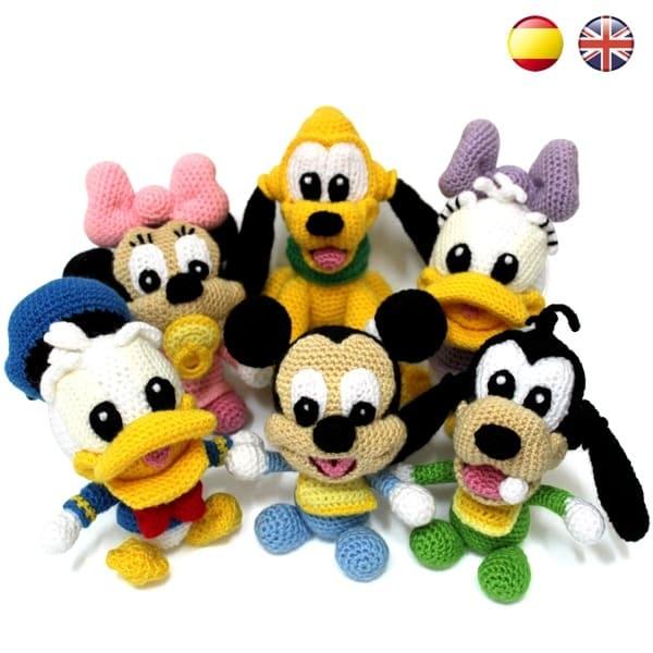Baby Disney Pdf Amigurumi Patterns Sueños Blanditos