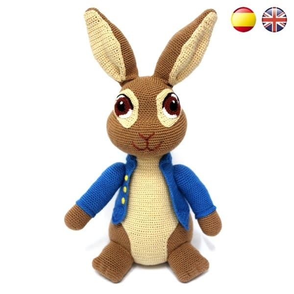 Bunny Amigurumi Crochet Pattern - Rabbit Crochet Pattern - Easter - | 600x600