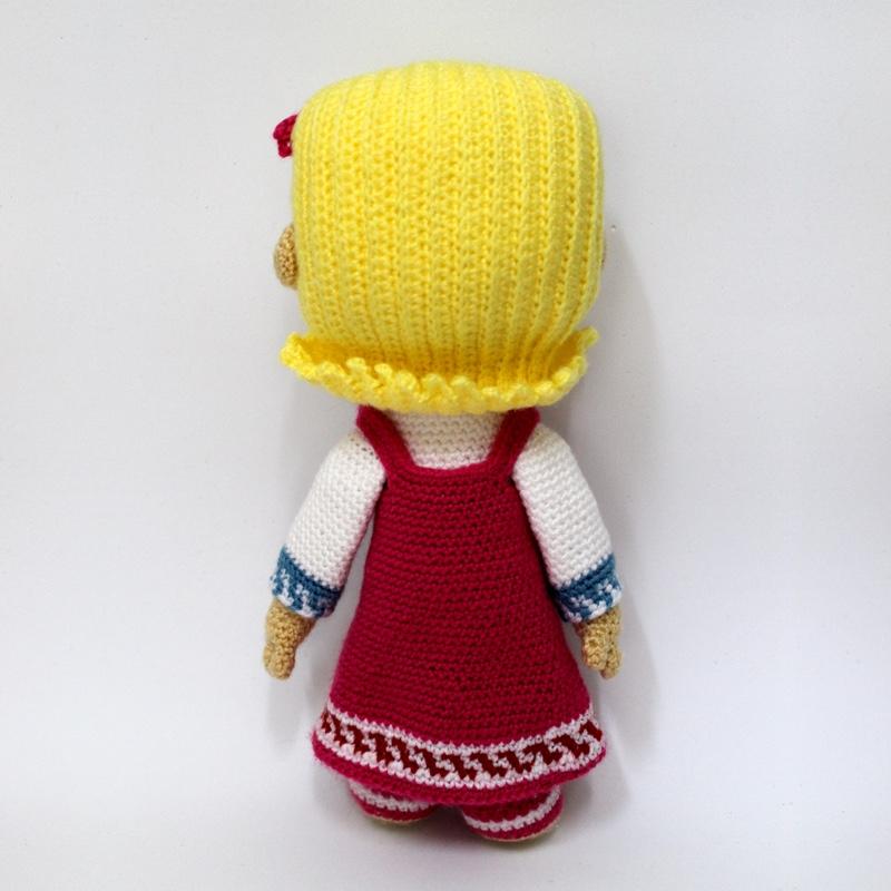 Amigurumi Doll Free Pattern | 800x800