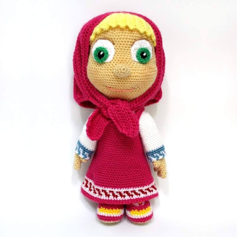 THE CALENDAR KIDS©️ JENNY JANUARY ©️ Crochet Doll Pattern - The ... | 800x800