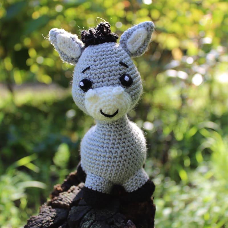 My Love Crochet - Little Pedro - Amigurumi Donkey [Free... | Facebook | 800x800