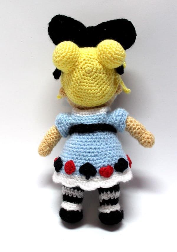 Crochet pattern Alice in Wonderland - PDF PATTERN Alice ...   853x600