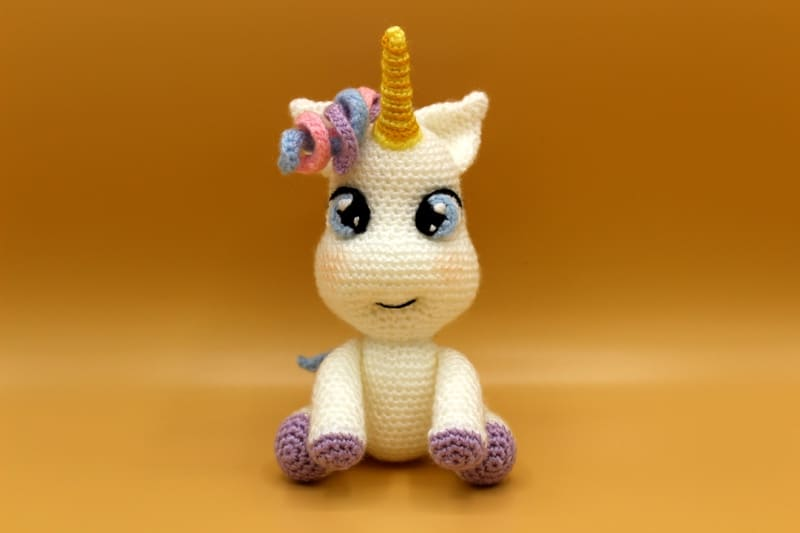 Wee Unicorn Free Crochet Pattern | 533x800