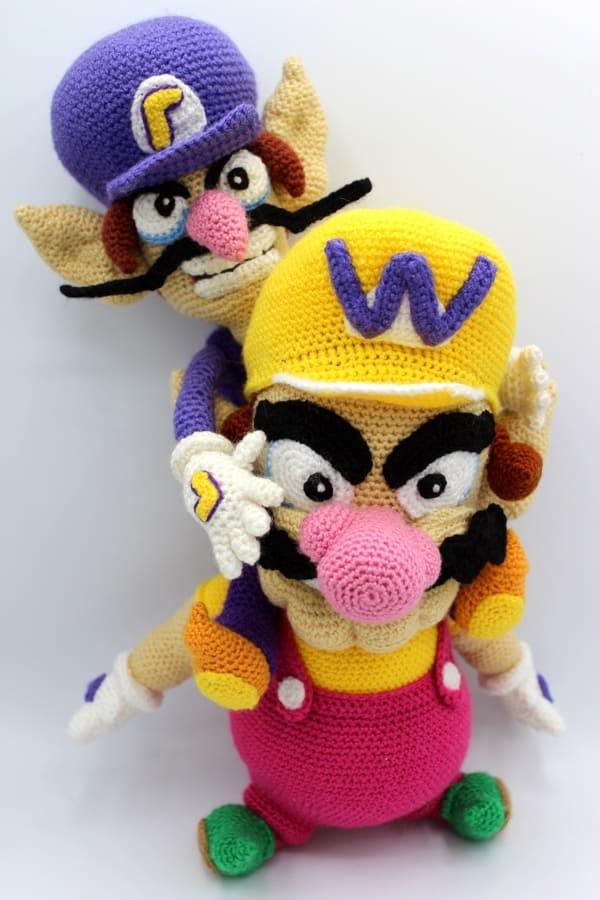 PATTERN+Mario+&+Luigi+Doll+Combo+Pattern+Set++by+WhatnotsbyLori,+$ ... | 900x600