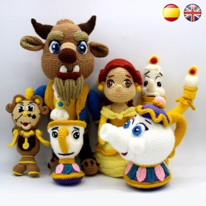 Beauty and the Beast Amigurumi Patterns