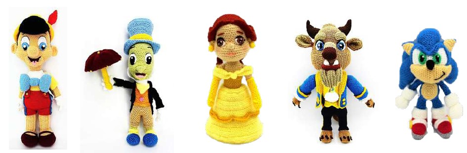 Amigurumi Characters: 60 Patterns