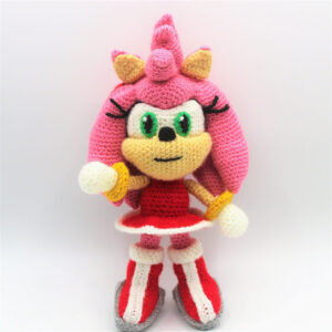 Amy Rose Amigurumi Pattern