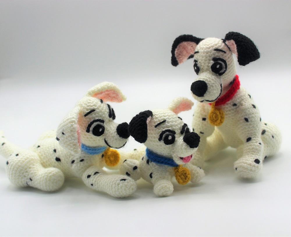 Dalmatians Family amigurumi patterns