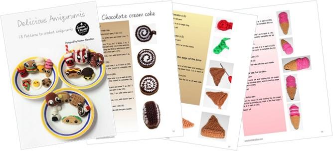 Delicious Amigurumis: 18 patterns of amigurumi food
